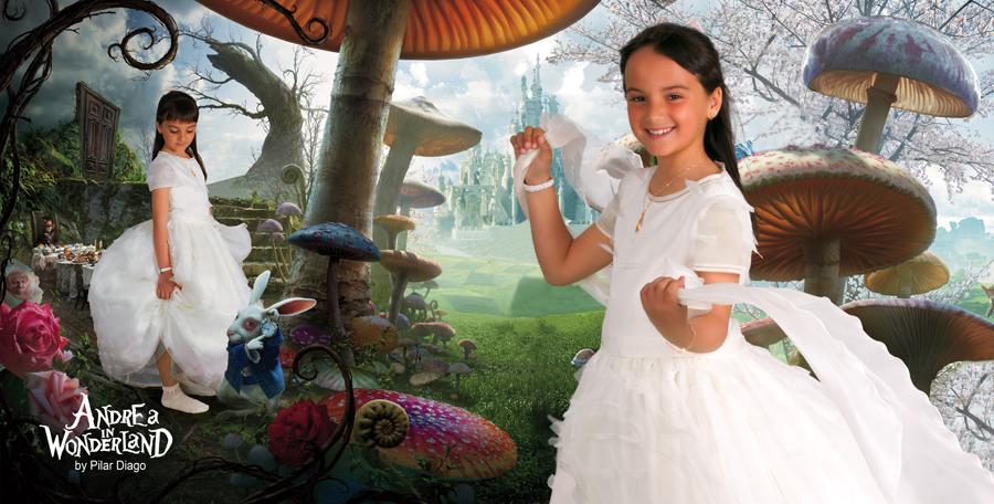 Andrea in Wonderland