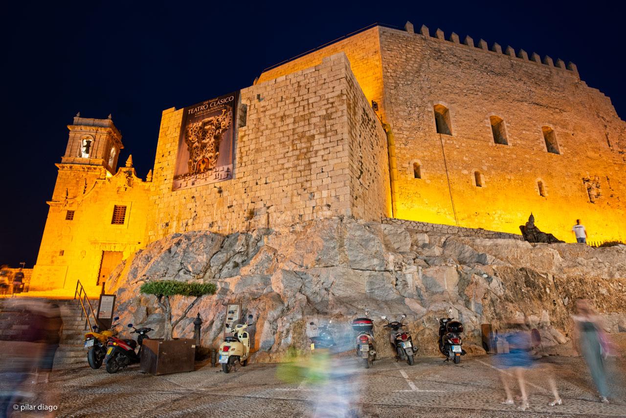 Castillo de peñíscola y Festival de Teatro Clásico de Peñíscola
