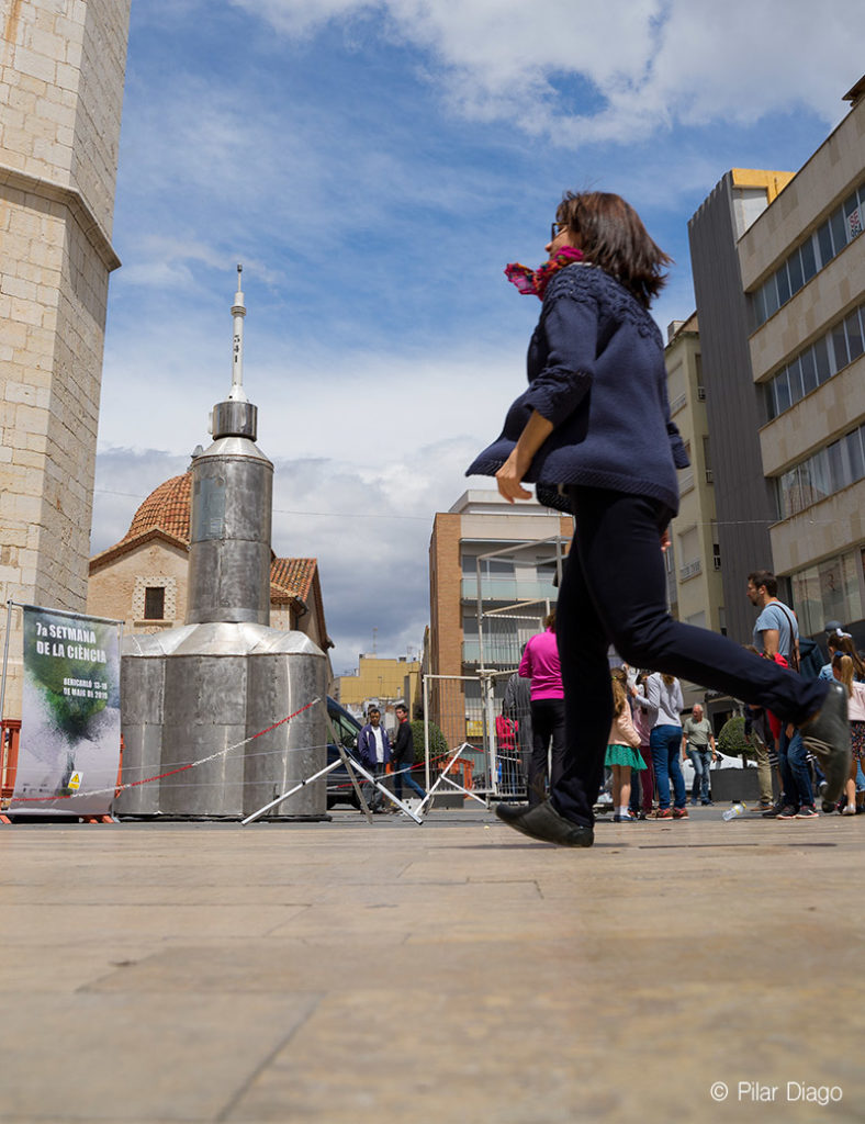 ciencia y fotografía de eventos en la calle