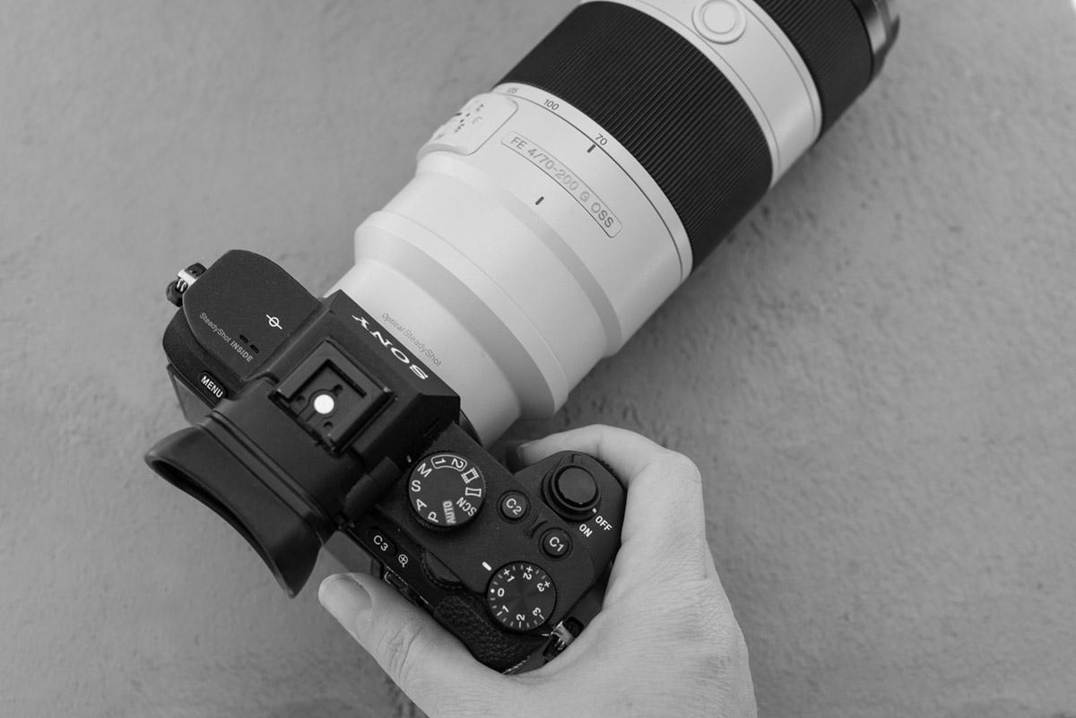 Pilar Diago y su cámara Sony A7II