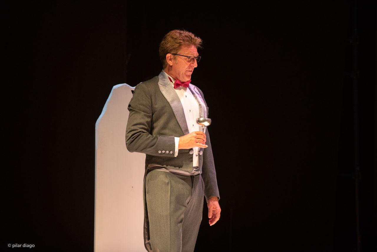 Juanjo Artero en el Festival de Teatro Clásico de Peñíscola